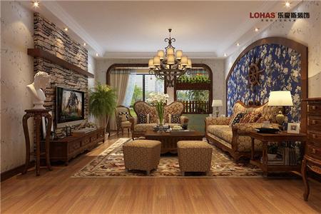 盛世天骄150平三室两厅现代简约装修效果图